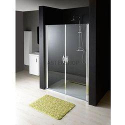 ONE drzwi prysznicowe do wnęki 80x190cm szkło czyste GO2880
