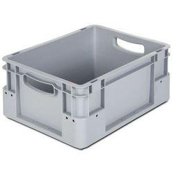 Pojemnik przemysłowy,poj. 15 l, dł. x szer. x wys. 400 x 300 x 180 mm, opak. 5 szt.
