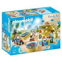 Klocki dla dzieci, Playmobil FAMILY FUN Sklep akwarystyczny 9061