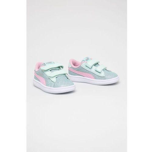 Buty sportowe dla dzieci, Puma - Buty dziecięce Smash V2Glitz GlamV Inf