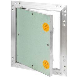 Klapa rewizyjna aluminiowa Diall z płytą g-k 20 x 25 cm