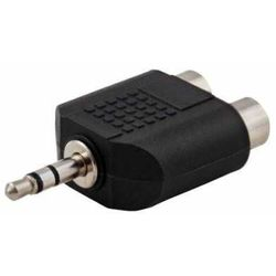 SAVIO Adapter audio Savio CLS-19 mini Jack 3.5mm – 2xRCA