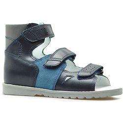 Sandały profilaktyczne Bartek 86804 Granatowe