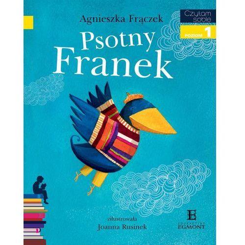 Książki dla dzieci, Psotny Franek. Czytam sobie Poziom 1 (opr. miękka)