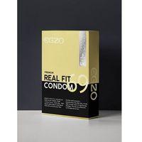 Prezerwatywy, Prezerwatywy EGZO traditional condom REAL FIT 3pc