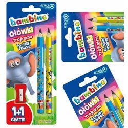 Ołówki Mini Bambino Zoo (2 sztuki)