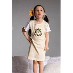 Pizamka dziewczeca Ami 2981 zolta