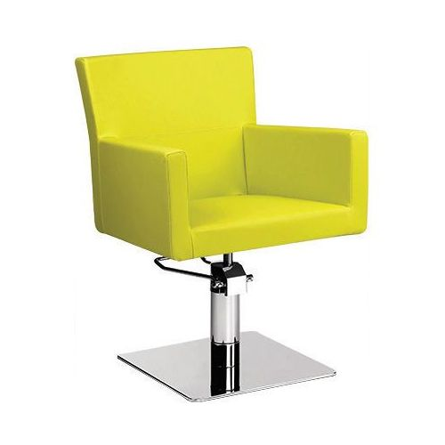 Meble fryzjerskie, Ayala Isadora 01 fotel fryzjerski na pompie hydraulicznej z możliwością wyboru podstawy