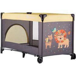 Petite&Mars łóżeczko turystyczne Koot, Lion Yellow