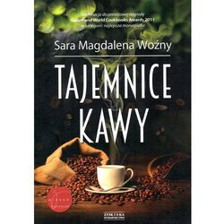 książka TAJEMNICE KAWY - Sara Magdalena Woźny