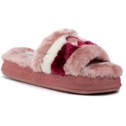 Kapcie TOMMY HILFIGER - Downslipper Sandal FW0FW04365 Blush Pink TZ6