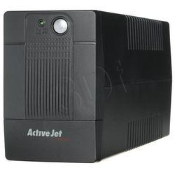 ActiveJet UPS AJE-700VA LED / USB / RJ11 / 4xIEC320 / 1x9Ah