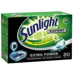 SUNLIGHT 20szt All in 1 Expert Tabletki do zmywarek z ekstraktem z cytryny