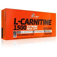 Redukcja tkanki tłuszczowej, L-Karnityna - L-Carnitine 1500 Extreme Mega Caps Olimp