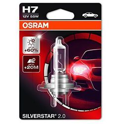 OSRAM H7 12V 55W PX26d SILVERSTAR® 2.0 - BEZPŁATNY ODBIÓR: WROCŁAW!