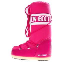 Moon Boot MB Nylon Śniegowce Różowy 23-26 Przy zakupie powyżej 150 zł darmowa dostawa.
