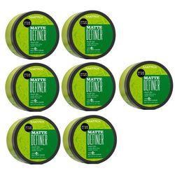 Matrix Style Link Matte Definer   Zestaw: glinka teksturyzująca do włosów 7x98g