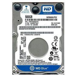 """WD WD5000LPCX Blue 500GB 2,5"""" - produkt w magazynie - szybka wysyłka!"""