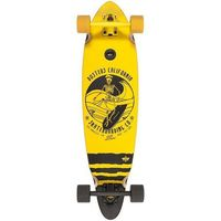 Pozostały skating, crusier DUSTERS - Skipper Longboard 33 Black/Yellow (BLK/YEL) rozmiar: 33