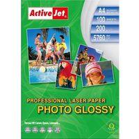 Papiery fotograficzne, Activejet papier fotograficzny błyszczący A4 100 szt 200g (AP4-200G100L) Darmowy odbiór w 20 miastach!