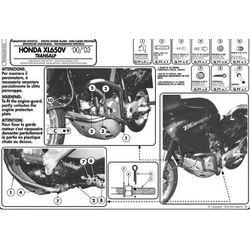 Kappa KN26 Gmole Honda Xl 650V Transalp (00 07)