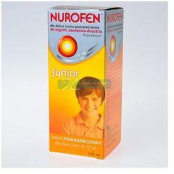 Nurofen dla dzieci JUNIOR pomarańczowy 100ml