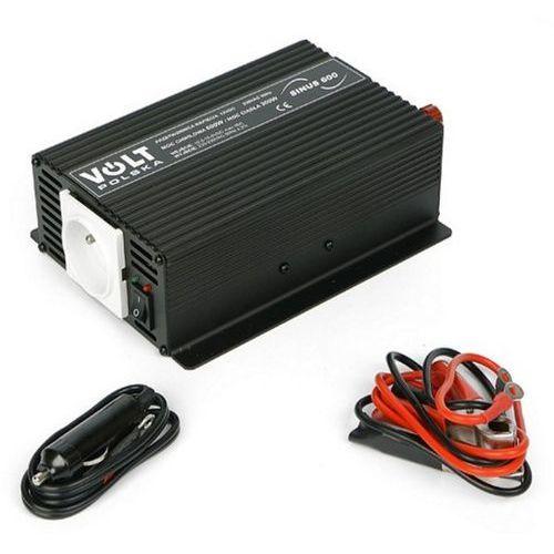 Przetwornice samochodowe, VOLT SINUS 600 przetwornica samochodowa 300W/600W 12V/230V z pełną sinusoidą