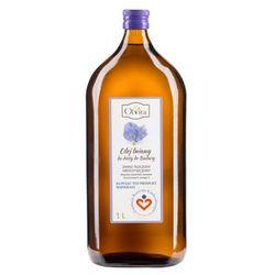 Olej lniany Budwigowy 1l Olvita