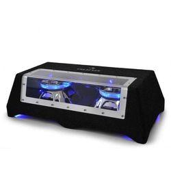 """Auna Podwójny subwoofer samochodowy C8-Sub-2x12-LED 30cm (12"""") 2 x 800W 30cm"""