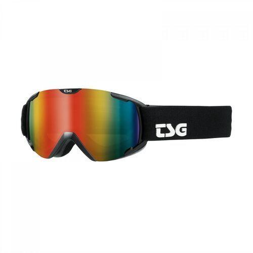 Kaski i gogle, gogle snowboardowe TSG - goggle expect mini 2.0 solid black (102) rozmiar: OS