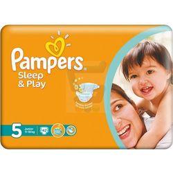 Pampers Sleep&Play Pieluchy rozmiar 5 Junior 11-18 kg 42 szt.