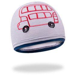 Czapka YO! CDA 512 Boy School Bus 48-50cm, wielokolorowy. YO!, 48-50cm