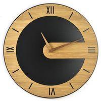 Zegary, Zegar ścienny Bamboos KarmeLove Classic