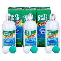 Krople do oczu, Płyn OPTI-FREE RepleniSH 3 x 300 ml