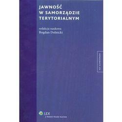 Jawność w samorządzie terytorialnym (opr. twarda)