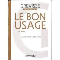 Książki do nauki języka, Bon Usage 16e edition - Maurice Grevisse, Goosse Andre (opr. kartonowa)