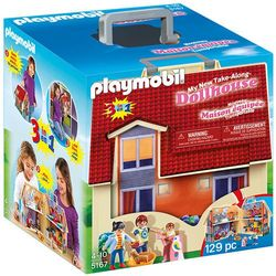 Playmobil DOLLHOUSE Nowy przenośny domek 3w1 5167