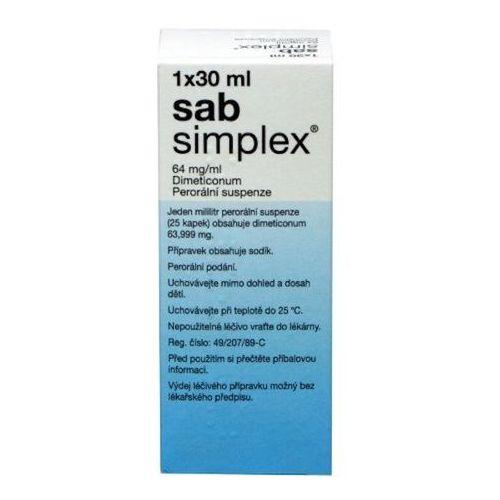 Leki na wzdęcia, Krople sab simplex 30 ml. wyprzedaż