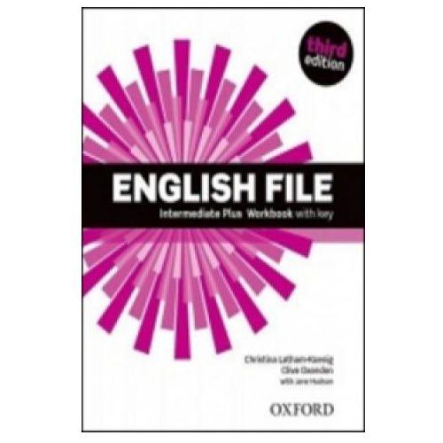 Książki do nauki języka, English File Inter.Plus WB+key (opr. miękka)