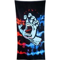 ręcznik SANTA CRUZ - Screaming Hand Tie Dye Towel Red/Blue (RED-BLUE)