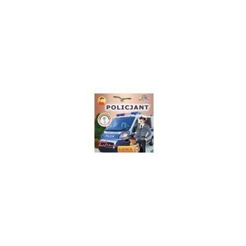 Książki dla dzieci, Policjant. Poznajemy zawody + CD gratis (opr. miękka)