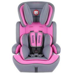 Lionelo Fotelik 9-36 kg Levi Plus pink - DARMOWA DOSTAWA OD 199 ZŁ!!!