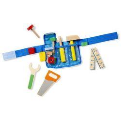 Pas z drewnianymi narzędziami Melissa & Doug - Deluxe Tool Belt Set MD15174