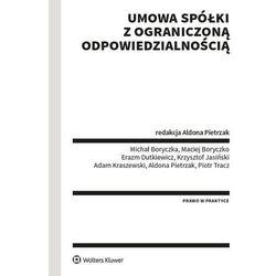 Umowa spółki z ograniczoną odpowiedzialnością - aldona pietrzak (opr. broszurowa)