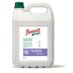 Florovit Agro Płynny Nawóz Dolistny Fosforowo-Potasowy (P+K) 5L