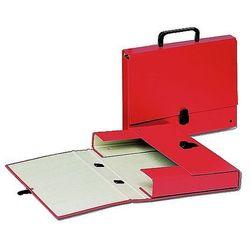 Teczka tekturowa z rączką, grzbiet 40mm, czerwona Esselte 99333