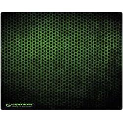 Podkładka pod myszkę Esperanza Midi Grunge 300x240x3 czarno-zielona EGP102G