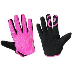 Rękawiczki dziecięce Accent Elsa różowe L/XL
