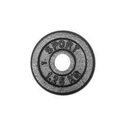 Obciążenie żeliwne 1,25 kg czarne fi 31 mm (okrągłe) Kelton