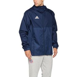 Dla mężczyzn Adidas TIRO 17 Rain Jacket, niebieski, XL